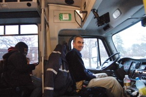 Sead Jahic, the Silver Line Bus Driver