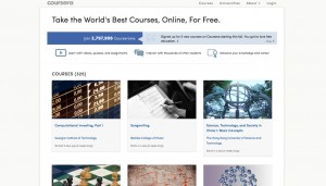 Students find coursera a great site for a wide variety of subjects
